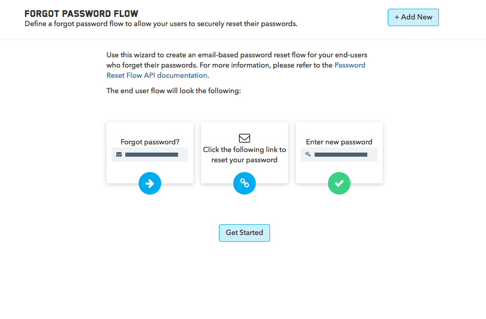How do I Implement User Forgot Password? - TrueVault